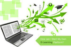 own e-learning platform